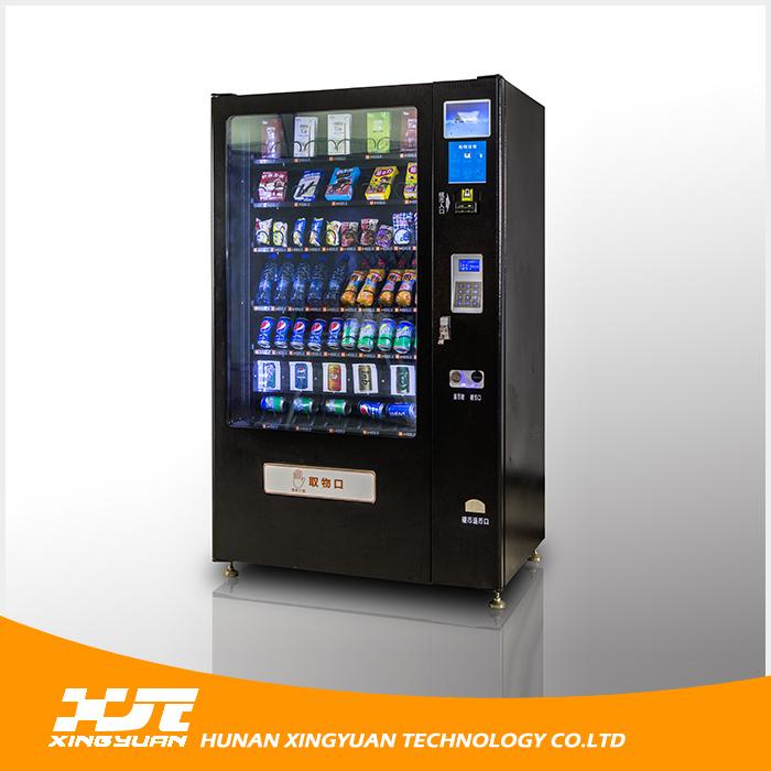 High Quality Cheap Proce Black Drink & Snacks & Water Vending ...