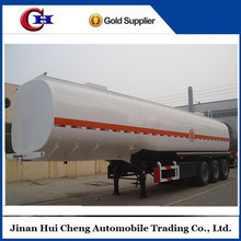 40000 liters tri axles 4 compartments fuel trailer,fuel tank truck suppliers in philippines