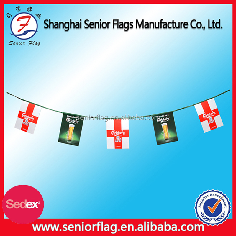 Custom Cheap String Flag/Bunting Flags/Pennants