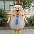 Lovely fat chicken mascot costume/custom mascot costume/mascot
