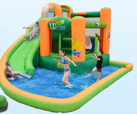 OEM/ODM commercial Inflatable Water Slide Bounce House Swimming Pool Bouncer Jump Party Kids Castle