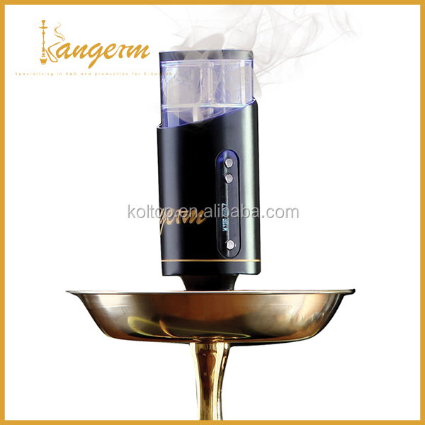 Original Kangerm design 100W &TC wholesale silicone hookah hose e hookah 50ml refilling Tank ,Replaceable coil & battery