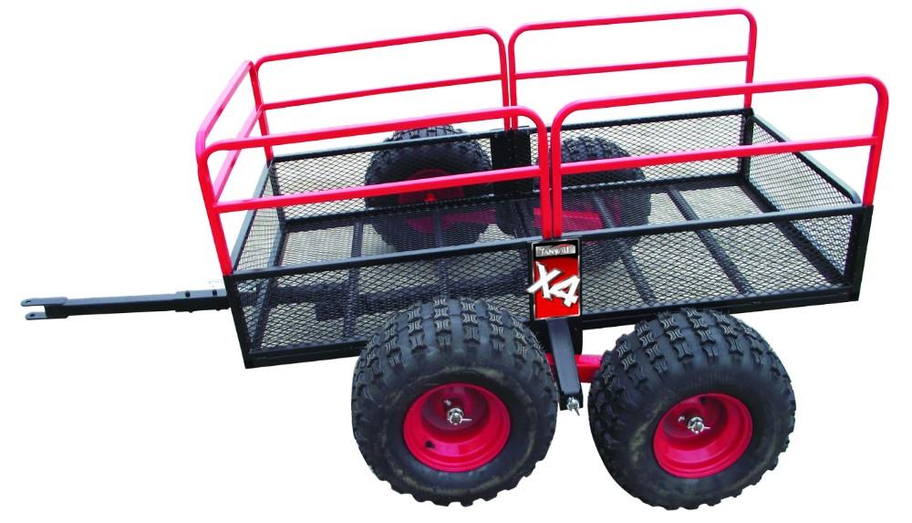 Atv Wheel Weights : D garden trailer with wheels buy tractor