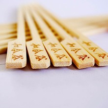 Cheap price flat bamboo skewer, custom food picks,party food picks