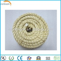 6mm 3 Strands Hemp Rope for Sale
