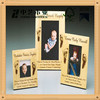 Trade assurance FSC funny christmas wooden picture photo frame