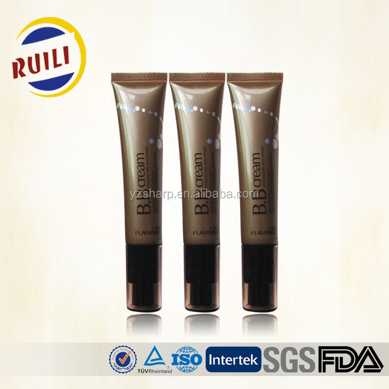 40ml plastic tubes with pump cap used for BB cream and eye cream