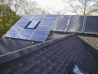 15kw dual axis solar tracking system Solar System With Roof Rack solar and wind power generation