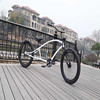 "26"" stretch frame chopper bicycle for men"