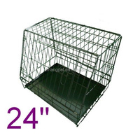 wire sloping slanted cages Pet Crate Dog Cage Kennel