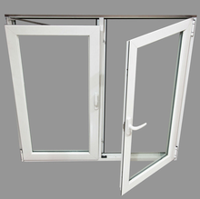 High Quality European Style PVC Tilt Window with Factory Price