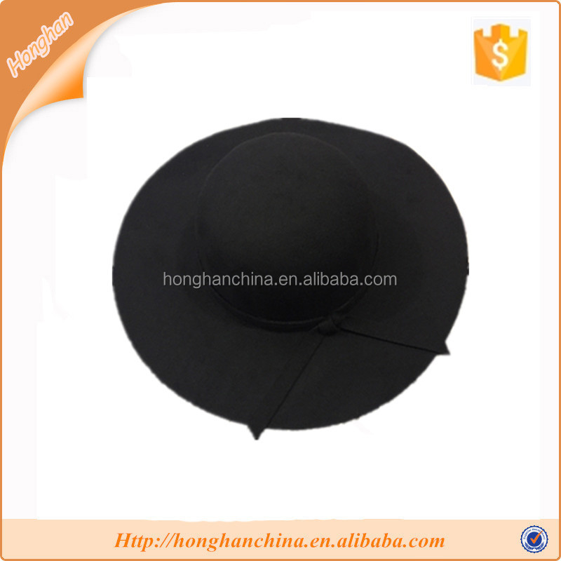 Dark color polyester big breasted hat