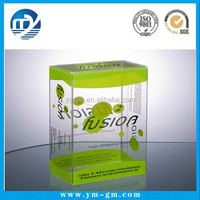 custom printed clear plastic packaging box in China