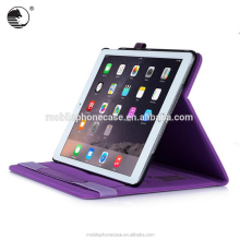 High Quality New Design Stand and Flip PU Leather Tablet Case with Handle Card For Ipad Air 2