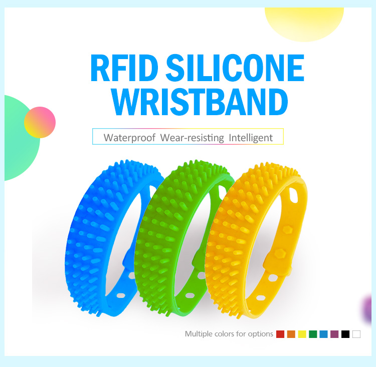 HYWGJ19 Good Price Long Range Anti Interference UHF RFID Wristband