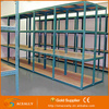 Galvanized perforated steel angle iron shelving