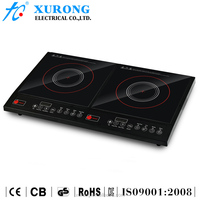 Multi-function button control double induction cooker(XR20/DCL1)