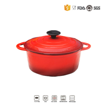 european enamel coated cast iron cookware A24b