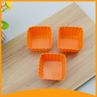 mini size kitchenware silicone cake cup baking mold
