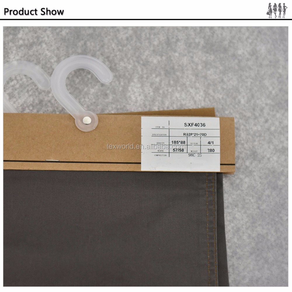 wholesale clothing fabric distributors china 100% cotton twill fabric used for garment /clothing