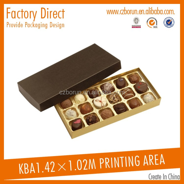New product promotional pet carrier paper gift box chocolate box food box