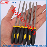 6pcs needle wood rasp steel files wood tools