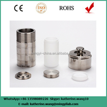 25ml-500ml stainless autoclave teflon lined autoclave reactor with low price