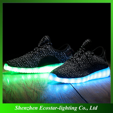 Promotional Flashing LED Casual Shoes for Adults