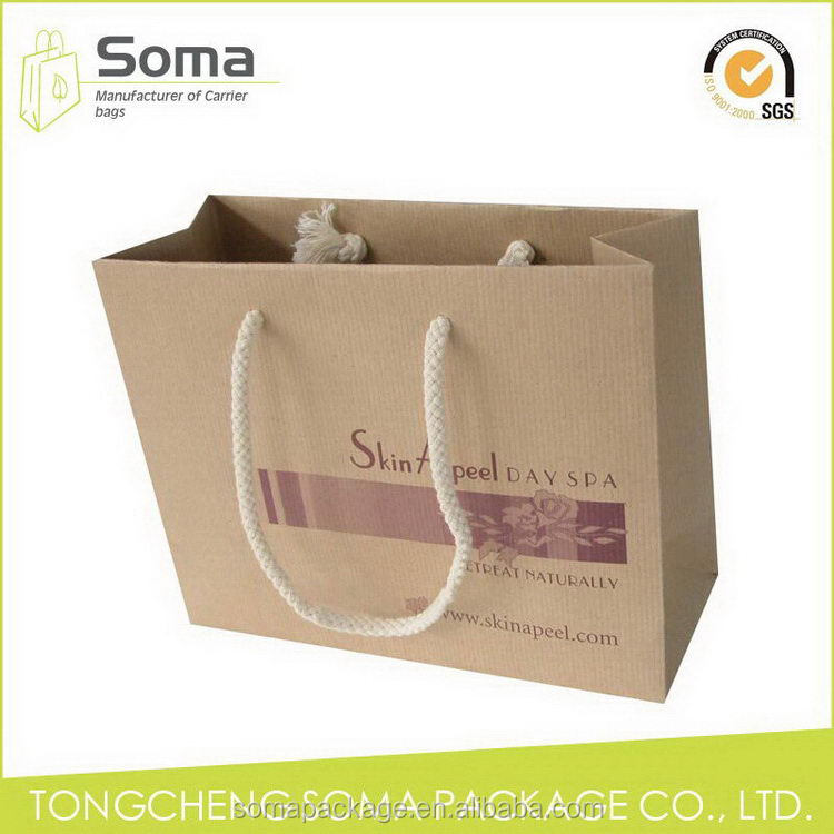 High quality new coming luxury packaging paper gift bag