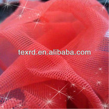 2013 big sell hot warp-knitted 20D semi dull square nylon mesh fabric