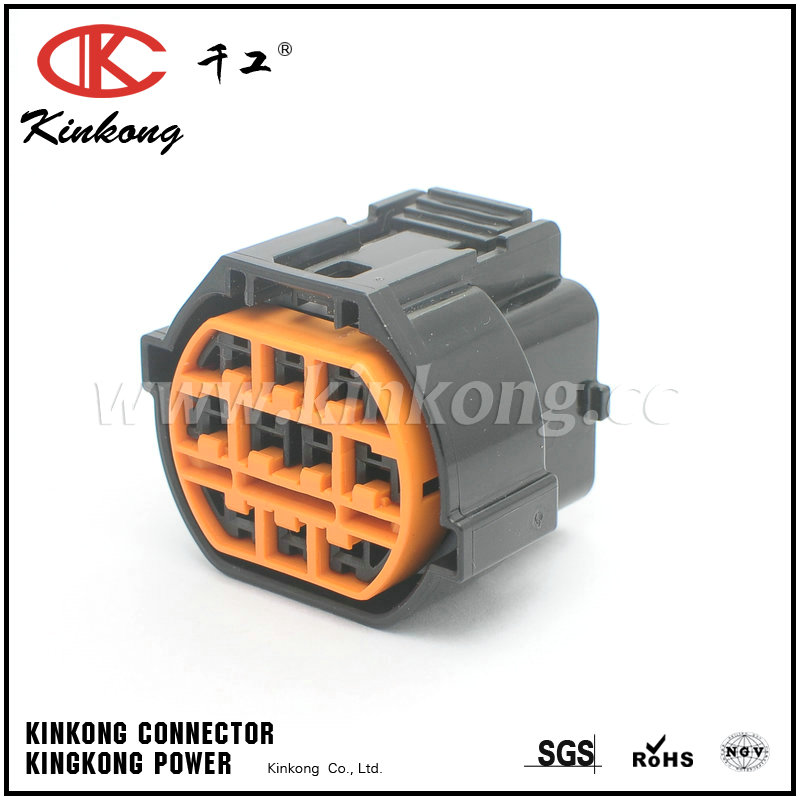 KUM KET 10 pin car electrical female plug Waterproof Auto connector with terminal