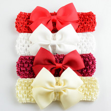 Brand New Baby Bow Headband Hair Bowknot Headbands Girls Bow Headband Toddler Headwear Infant Hair Accessories A461