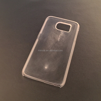 china shenzhen wholesale clear transparent inlay phone case for samsung galaxy s6