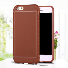Antiskid mobile phone plain tpu case for iphone6 plus / 6S plus Solid color of soft TPU bumper case for iphone6s plus