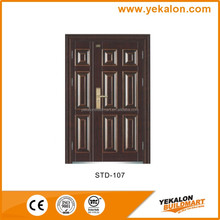 Yekalon STD-107 Mother and son door security machines making steel door