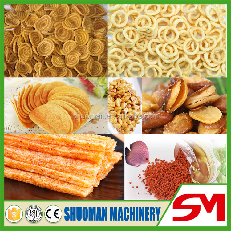 High efficiency and good stability puffed food seasoning