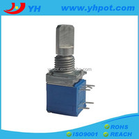 jiangsu 9mm volume control rotary a103 micro potentiometer with switch