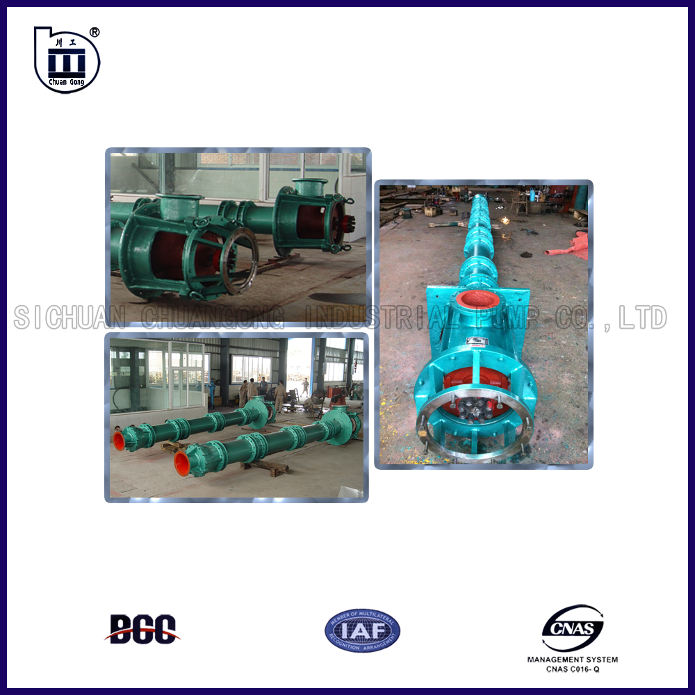 160~280kW/1450r/min 400KGL Turbine Deep Well Vertical Centrifugal Pump