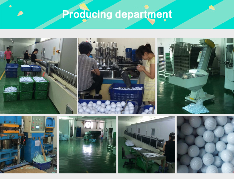 Bulk two layer high quality practice golf balls and golf driving range ball