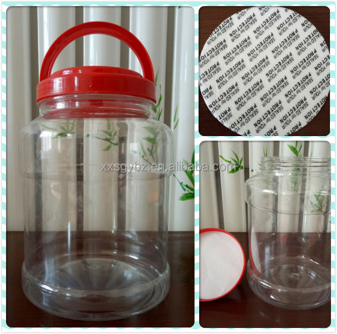 1 gallon plastic bottle