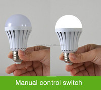 Factory direct low price 7w led bulb rechargeable emergency