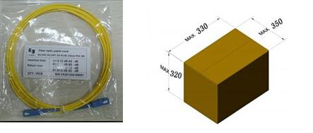 LC SM indoor cable ftth patch cable