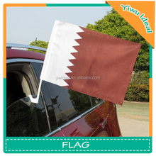 Qatar Hanging Hood National Car Window Flags