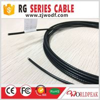 Super link rf pigtail RG6 quad shield coaxial cable RG316 lmr195 RG6 cable television wire