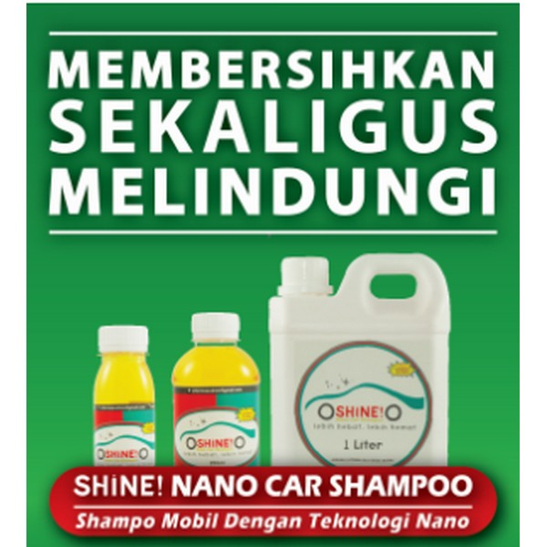 SHINE! Nano-Car Shampoo