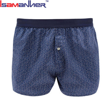 Breathable popular boxer briefs comfort boxers underpants man