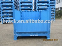 Heavy duty folding container
