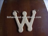 wooden english letter