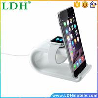 For Apple Watch and for iPhone Stand Desktop mount 2 In 1 Rainbow Bridge Magnetic Charging Dock for iPhone SE 6 6S Plus 5S