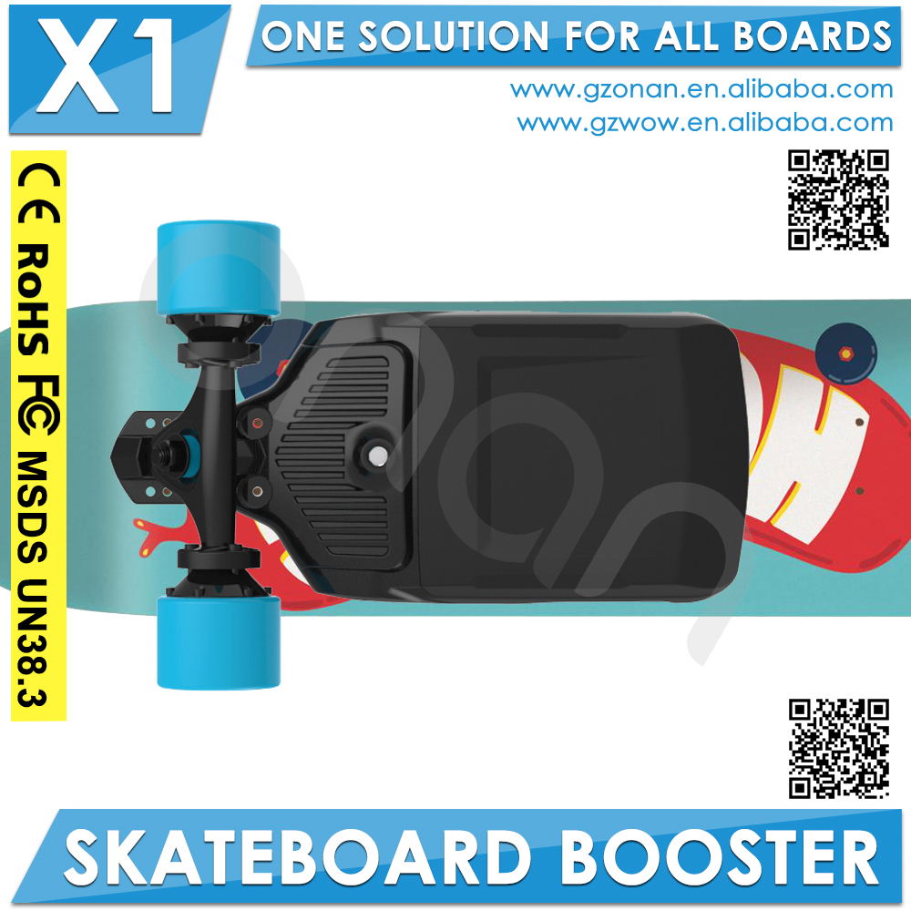 Street Cruiser 4 Wheel Electric Skateboard